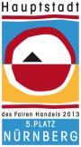 N�rnberg belegt 5. Rang 'Hauptstadt des Fairen Handels 2013
