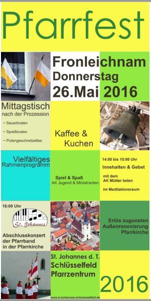 Einladung f�r 26. Mai 2016