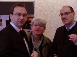 Der Vorstand: Prof. Dr. Söder, Frau Peter, Dr. Biberger (v.l.)