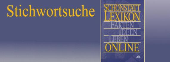 Schönstatt-Lexikon Stichwortsuche