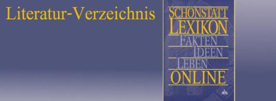 Schönstatt-Lexikon Literatur-Verzeichnis