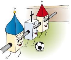 Tischfussball Kirchenkicker