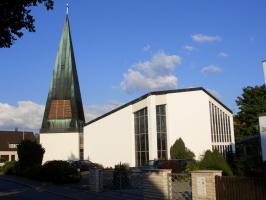 Die St. Elisabeth-Kirche in Möhrendorf