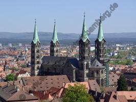 Blick vom Michelsberg auf den Bamberger Dom