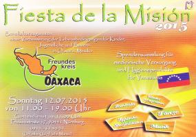 Spanisches Fest der Spanisch sprachigen Katholischen Mission 2015