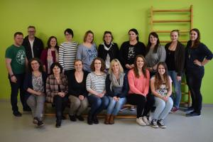 Das Team der Kindertagesstätte 2016/2017