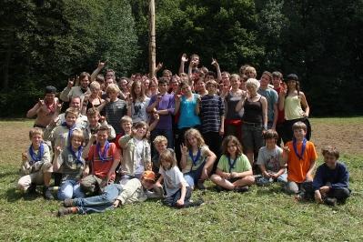 Stamm Gruppenfoto Kugelspiel 2011