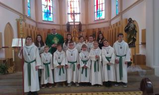 Ministranten Gruppe St. Josef Wilhelmsthal