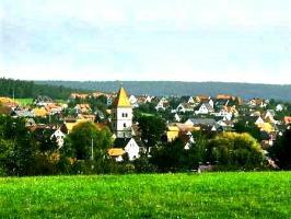 Heroldsbach mit Pfarrkirche St. Michael