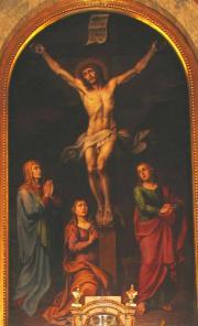 Das Altarbild von St. Michael