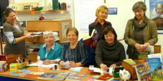 Mitarbeiterinnen der Gemeindebücherei St. Michael