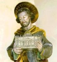 St. Josefs-Statue in der Pfarrkirche