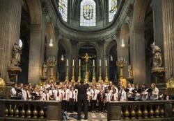 2014 pueri cantores, Paris