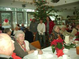 Weihnachten 2007 im Altenheim