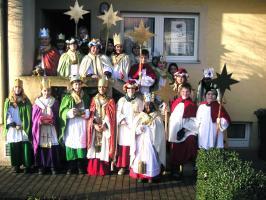 Unsere Sternsinger 2005