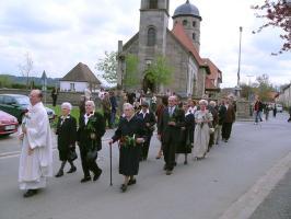 Jubelkommunion in Poxdorf