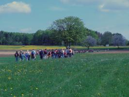 Fußwallfahrt nach Gößweinstein 2008