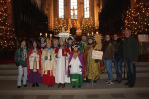 Sternsinger aus Poxdorf und Effeltrich in Bamberg
