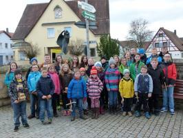 Kleppern in Poxdorf