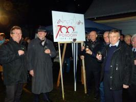 Auftaktveranstaltung zum Jubiläum 700 Jahre Poxdorf