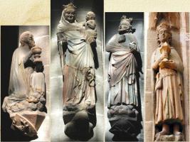 Maria mit dem Jesuskind und den Weisen aus dem Morgenland
