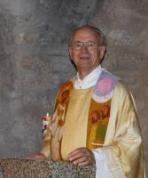 Geistl. Rat Veit Dennert bei der Festpredigt