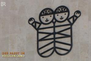 Emblem des Caritas Baby Hospital in Bethlehem
