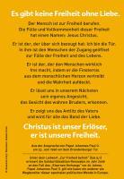 Johannes Paul II »Ohne Liebe keine Freiheit«
