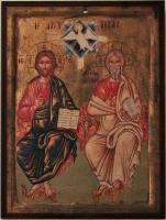 Dreifaltigkeitsikone in der Dorfkirche von Matala (Kreta)