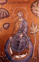 '... ruht ein wenig aus.-,' (Ev.) Mosaik, Monreale, 13. Jahrh - Bergmoser & Höller
