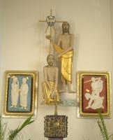 Johannes tauft Jesus, Maria und Elisabeth begegnen sich, Johannes wird enthauptet