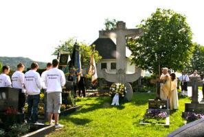 Totengedenken der Großenbucher Vereine nach der Kirchweihmesse