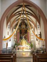 Chor der Pfarrkirche St. Johannes der Täufer in Schlüsselfeld