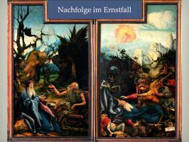 Das Gespräch der beiden Einsiedler Antonius und Paulus - das Leiden des Antonius an den Versuchungen und Sünden der Menschen
