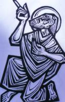 4. S. . Jahreskreis (C) Zum Propheten bestimmt' (Jer 1,5) mod. Graphik