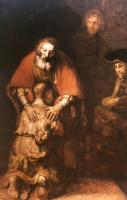 Rembrandt (1606-69) Der barmherzige Vater und der verlorene Sohn