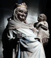Die lächelnde Maria und das Lächelnde Jesuskind (1360) St. Michael Neunkirchen
