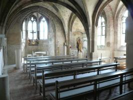 Ehem. Kapitelsaal des Stifts, heute Augustinuskapelle