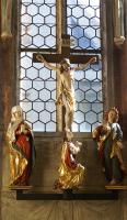 Kreuzigung (1628) ursprünglich im Kreuzaltar der Heilig-Grab-Kapelle, heute in der Augstinuskapelle (ehem. Kapitelsaal des Augustiner Chorherrnstifts.