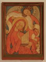 Heilige Cäcilia - Schutzheilige der Musik - von Felix Müller, Felix-Müller-Museum in Neunkirchen am Brand