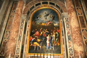 Verklärung St. Peter Rom