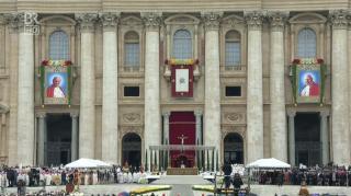 Heiligsprechung zweier Päpste am 27.April 2014: Johannes XXIII und Johannes Paul II