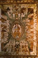 DBH-88/11 Allerheiligen (B) Christus Im himml. Jerusalem Fresko. frz., 11. Jh.