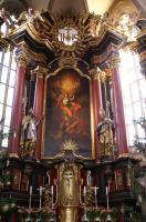 Hochaltarbild in St. Michael Neunkirchen a.Br. 1741 Johann Scheubel d.Ä.