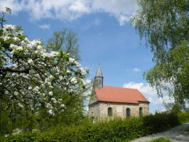 Heilig Grab Kapelle Neunkirchen im Frühling