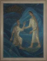 Als er aber sah, wie heftig der Wind war, bekam er Angst und begann unterzugehen. Er schrie: Herr, rette mich!  Matt 14,30
