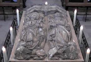 Grabmal für Heinrich und Kunigunde von Tilmann Riemenschneider im Bamberger Kaiserdom