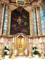 Martyrium des heiligen Vitus - Altarbild