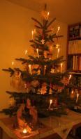 Mein Christbaum - Wer Ohren hat, der höre, was der Geist den Gemeinden sagt: Wer siegt, dem werde ich zu essen geben vom Baum des Lebens, der im Paradies Gottes steht.  Offenb 2,7