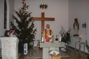 Christmette in Rödlas »Regina Pacis«